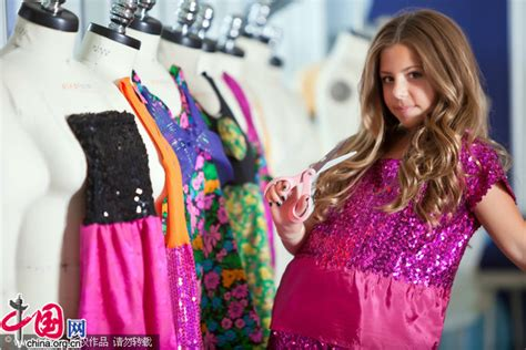 fashion for 11 year olds 2013 us youngest fashion designer 11 year old girl china org cn