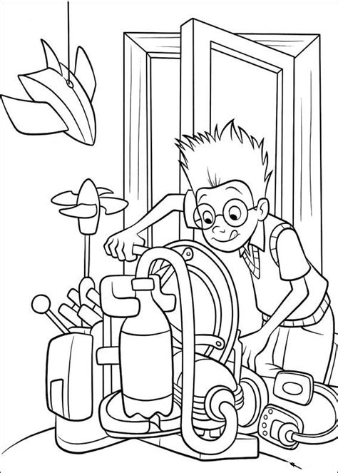 Coloring Page Meet The Robinsons Coloring Pages 5 Meet The Robinsons Coloring Pages