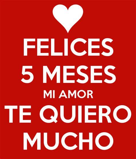 Feliz 5 Meses Mi Amor Imagui   feliz 5 meses imagenes imagui