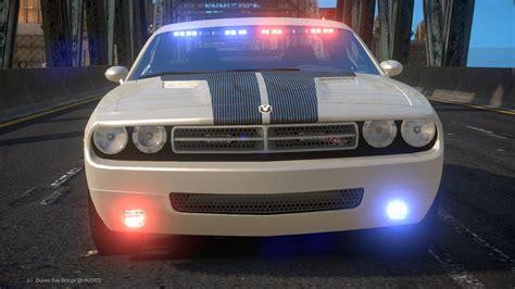 challenger cop car gta iv dodge challenger unmarked car