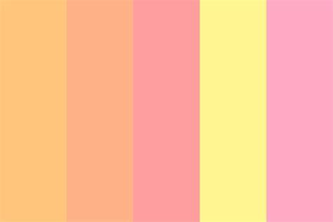 sunset color palette pink sunset color palette