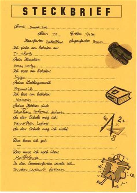 Large Home Plans steckbriefe klasse 5 by herr lehrer issuu