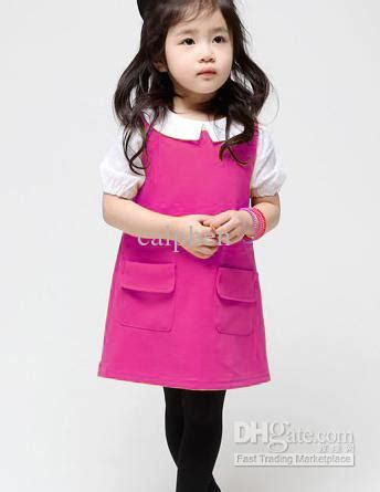 Korea Pink Stelan Sleveeless Pink wholesale dress buy new korean dress