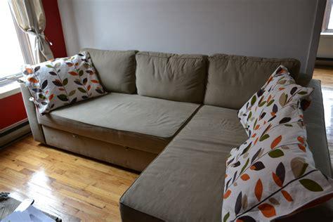 faire des canap駸 taies housses d oreillers coussins tuto r 233 versible