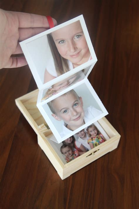 Marvelous Cheap Home Made Christmas Gifts #1: Photo-gift-box-diy-handmake-present-christmas-gift-idea-easy-cheap-1.jpg