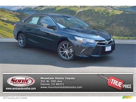 Toyota Paint Warranty Information 2016 Cosmic Gray Mica Toyota Camry Xse 106758794