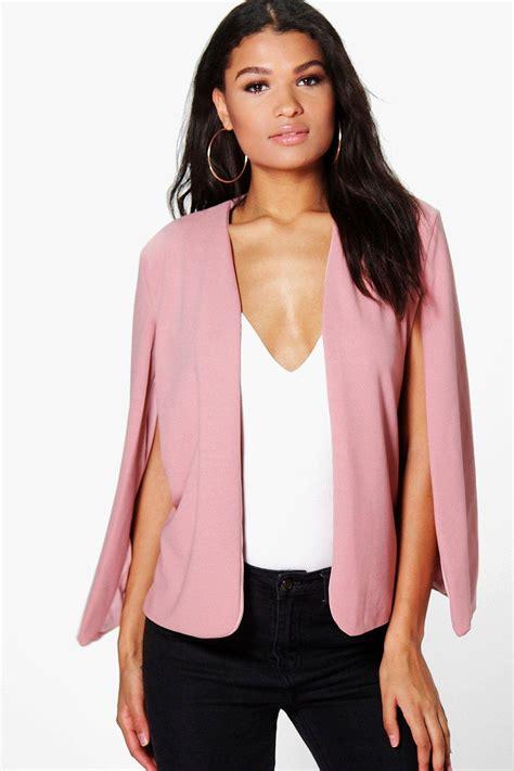 Cape Blazer Pink buy cheap pink blazer compare s outerwear prices