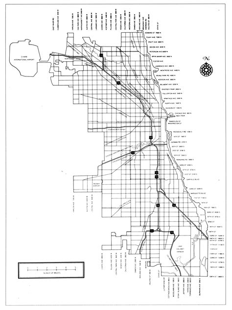 chicago map black and white maps forgotten chicago history architecture and