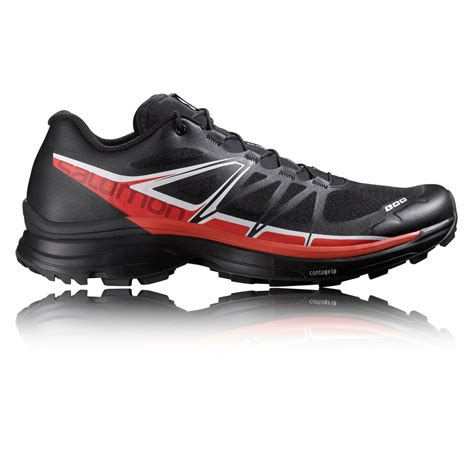 sg sports shoes salomon s lab wings sg mens black sneakers trail running