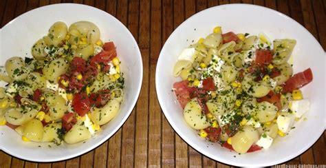 recette de cuisine pour diab騁ique salade de p 226 tes tomates et mozzarella