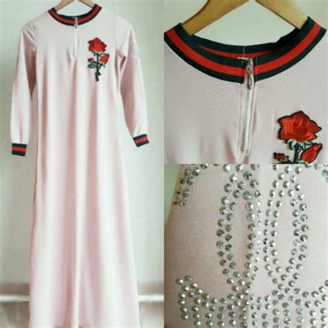 Baju Gamis Dress Maxi Wanita Muslim Jumbo Saku premium maxi dress baju gamis premium shopee indonesia