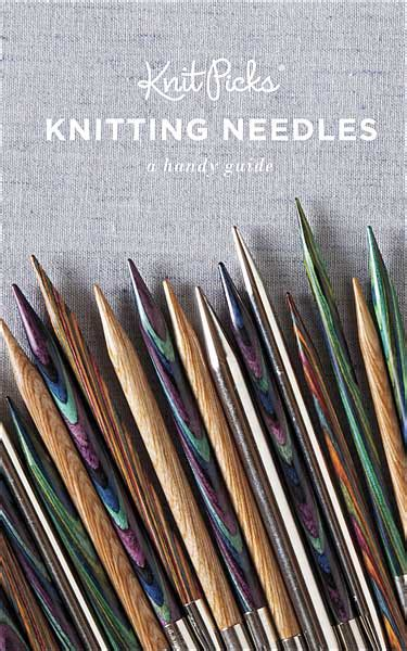 knitting needle guide knitting books from knitpicks