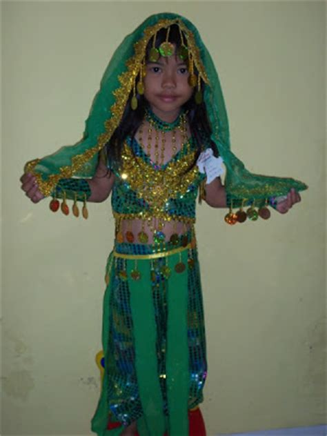 Baju India Anak 63 Ksa 016 Kostum Traditional India
