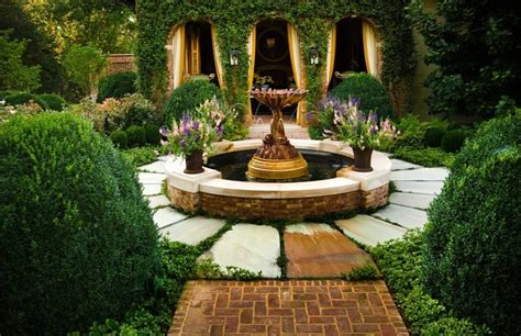 gorgeous small fountains   huge impact