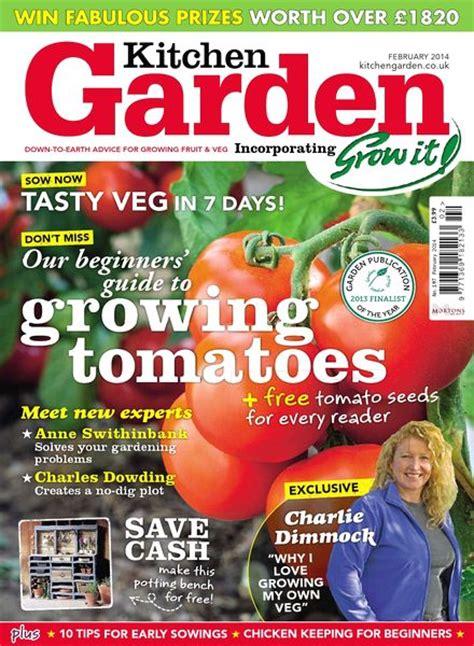 kitchen magazines download kitchen garden magazine february 2014 pdf