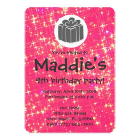 9th Birthday Card Template by 9th Birthday Gifts T Shirts Posters