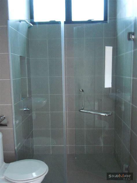 shower swing shower screen swing door tempered glass shower screen