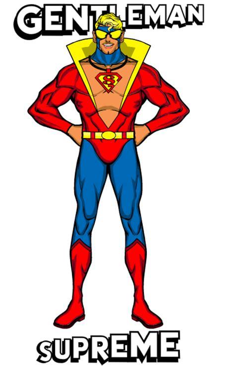 Jaket Supreme Superman Blue character contest 24 winners heromachine character portrait creator