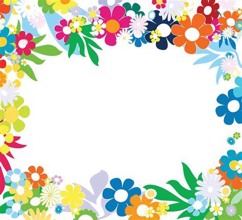 Floral Colorful Frames Frames Borders Pinterest Colorful Floral Powerpoint Templates Flowers Orange