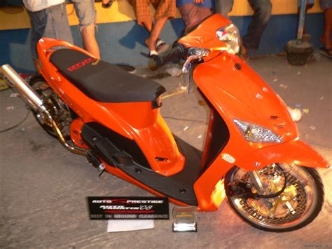 Modifikasi Mio Sporty 2007 by Yamaha Mio Sporty Motor Show Automotivegarage Org