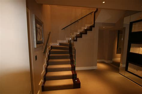 glass banister staircase staircase witjh glass balustrade ythe joinery staircases
