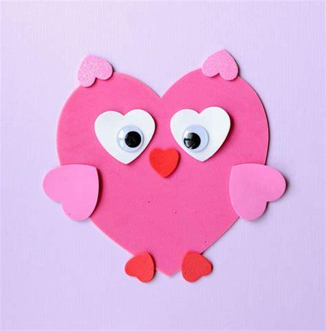 printable valentine animal crafts best 25 heart crafts ideas on pinterest origami heart