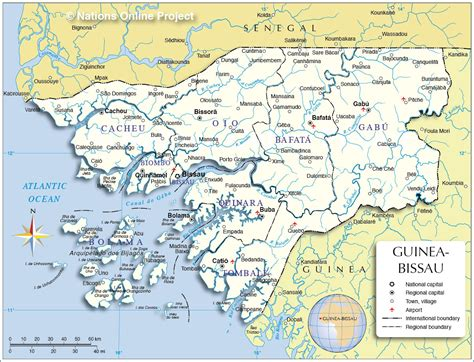 guinea bissau political map guinea bissau political map newhairstylesformen2014 com
