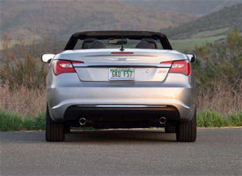 2013 Chrysler 200 Convertible Review by 2013 Chrysler 200 Convertible Road Test And Review