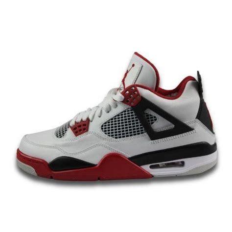 fancy basketball shoes mens nike air retro 4 basketball shoes whi 290