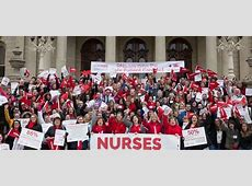 Nurses March! - Michigan Nurses Association Unions 2016