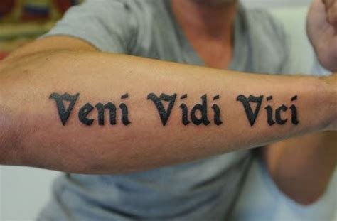 tattoo letras latin tatuajes frases en latin antebrazo tatuajes para hombres