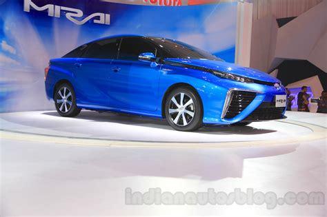 toyota mirai at the gaikindo indonesia international auto