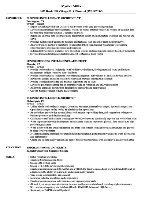 Microstrategy Architect Sle Resume by Microstrategy Architect Sle Resume Free Templates Invitations Joint Venture