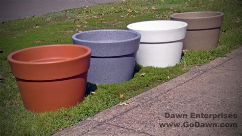 self watering planters aqueous plastic self watering planter site furnishings