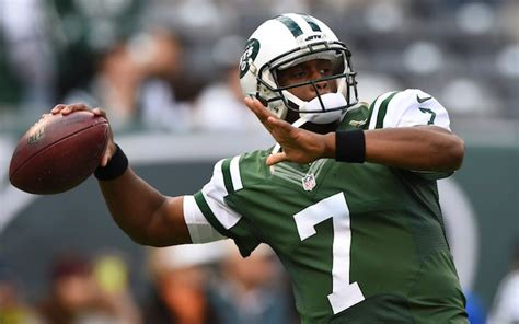 geno smith benched bills were literally bummed out when jets pulled geno smith cbssports com