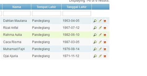 tutorial menggunakan yii framework yii framework menggunakan datepicker pada filter