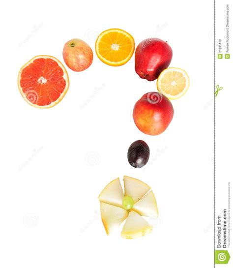 fruit questions fruit question stock photo image 21235110
