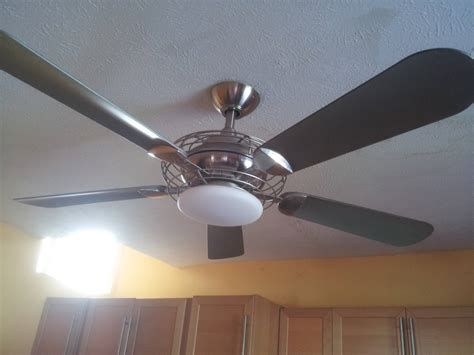 How Can I Replace The Bulb In This Ceiling Fan Home