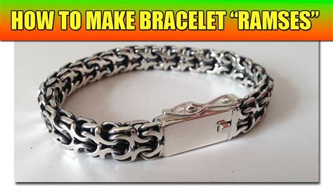 how to make chain jewelry how to make soldered chain quot ramses quot tutorial