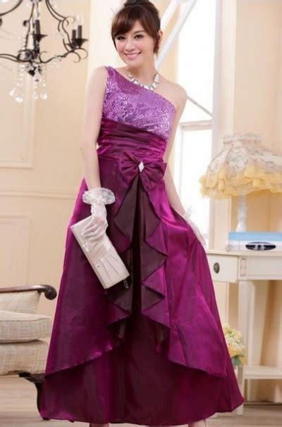 Gaun Pesta Warna Metalic Purple model baju pesta wanita terbaru di akhir tahun 2015 info