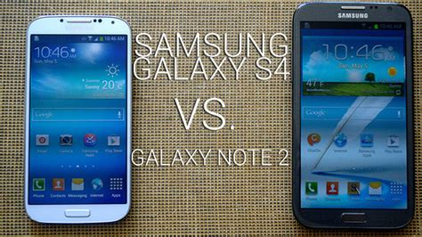galaxy s4 vs doodle 2 samsung galaxy s4 vs galaxy note 2