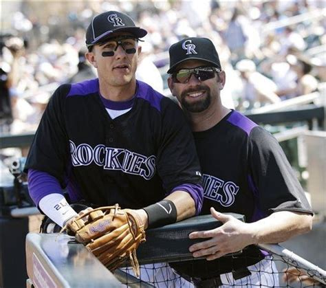 troy tulowitzki says rockies spring training more like a 46 best images about colorado rockies stuff on pinterest