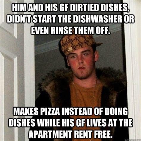 Rent Meme - scumbag dishwasher funny meme gif memes