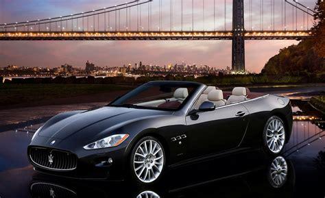 maserati black convertible maserati granturismo convertible priced at 140 200 car