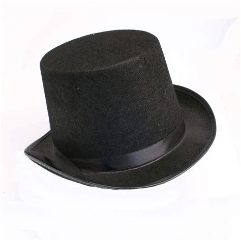 top hat black felt top hat