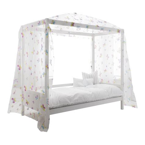 Bed Canopy Uk Canopy Four Poster Butterfly Bed
