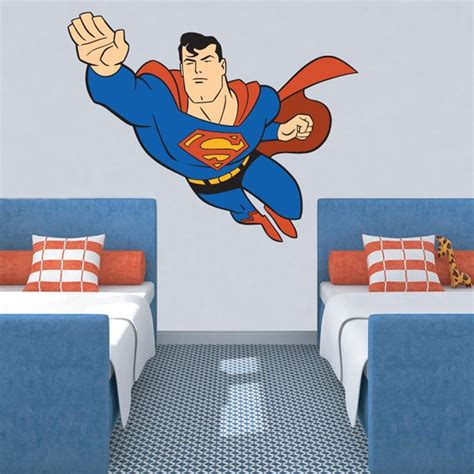 superman wall sticker superman wall sticker wall and window graphics murals