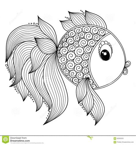 coloring pages of fish for adults coloring pages animal interesting fish coloring pages for