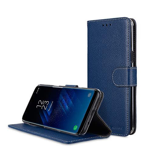Samsung Galaxy S8 Plus Flip Wallet Leather Book Cover Flip Cover samsung galaxy s8 plus mobile cases cellphone genuine leather flip