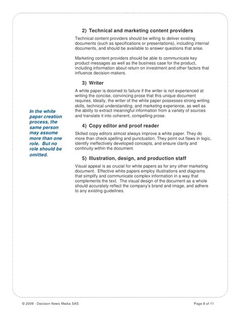 how to write an effective white paper how to write a white paper